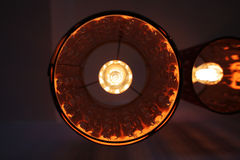 Lamp seen from below Royalty Free Stock Images