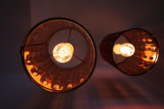 Lamp seen from below Royalty Free Stock Photography