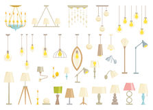 Lamp set. Stock Images