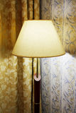 A lamp with a shade Royalty Free Stock Photos