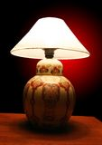 Lamp Shade. A Lamp Shade on Table royalty free stock image
