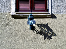 Lamp shadow Stock Photo