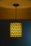 Lamp and shadow. In hotel Royalty Free Stock Photography