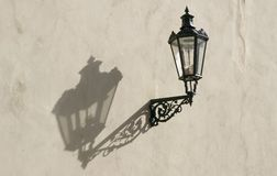 Lamp with shadow royalty free stock photos