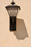 Lamp and shadow  on wall Stock Photos