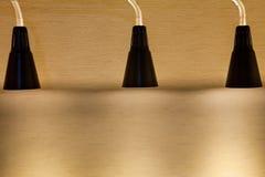 Lamp shines Royalty Free Stock Image