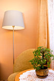 Lamp and side table Stock Photography