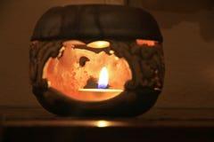 Lamp in slaapkamer Stock Afbeeldingen