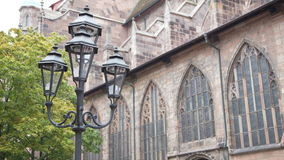 Lamp Stand, Nuremberg, Germany, Europe Royalty Free Stock Photo