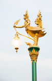 Lamp statue Royalty Free Stock Photos