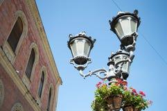 Lamp. Street lamp at Novi Sad stock photography