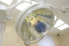 Lamp in a surgery room Royalty Free Stock Photos