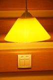Lamp and switch Royalty Free Stock Images