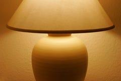 Lamp Table. Illuminating a Room Royalty Free Stock Photography