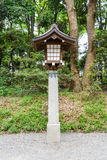 Lamp in tample ,Japan Royalty Free Stock Photo