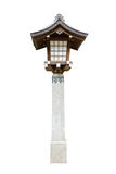 Lamp in tample ,Japan Royalty Free Stock Photography