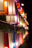 Lamp. Thailand fun winter light stock photos