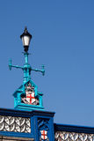 Lamp on Tower Bridge London Royalty Free Stock Images