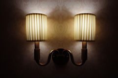 The lamp. Royalty Free Stock Photo