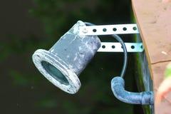 Lamp in tuin Royalty-vrije Stock Afbeeldingen