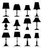 Lamp twee stock fotografie