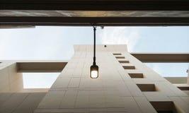 Upside Lamp royalty free stock image