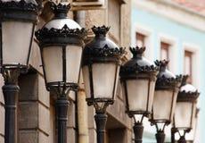 lamp ulicy rocznik Zdjęcia Royalty Free