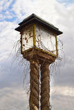 Lamp at Upper town, Zagreb, Croatia Stock Images