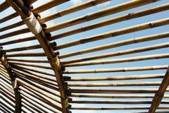 Lamp van bamboe Royalty-vrije Stock Foto's