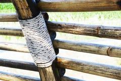Lamp van bamboe Royalty-vrije Stock Foto