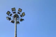 Lamp van de vlek de lichte weg Stock Fotografie