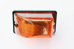 Lamp van de vrachtwagen de voorrichtingaanwijzer Stock Foto's