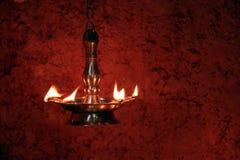 Lamp van Vechtsporten Stock Foto