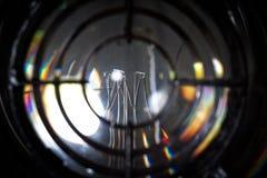Lamp van vuurtoren Royalty-vrije Stock Foto's