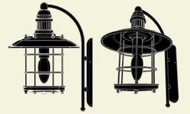 Lamp Vector 02. Lamp Art Decoration Illustration Vector Royalty Free Stock Photos