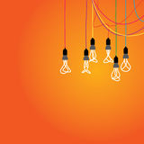 Lamp vector design. EPS 10 Stock Photography
