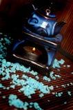 Lamp voor aromatherapy Royalty-vrije Stock Foto's