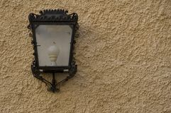 Lamp on wall Stock Photos