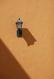 Lamp on wall Royalty Free Stock Photography