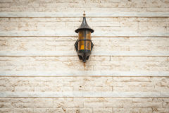Lamp on the wall Royalty Free Stock Image