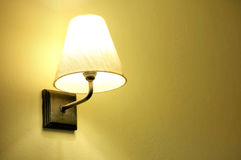 Lamp on the wall Stock Image