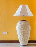 Lamp wall interior style Royalty Free Stock Photos