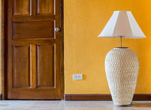 Lamp wall interior style Royalty Free Stock Photography