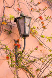 Lamp on the wall in the Marrakech Medina Royalty Free Stock Images