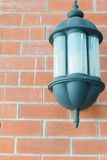 Lamp on the wall Royalty Free Stock Photo