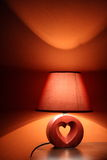 Lamp in warm colors Stock Photography
