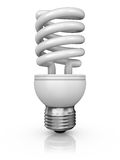 Lamp on a white background Royalty Free Stock Image
