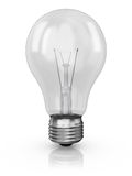 Lamp on a white background Stock Photos