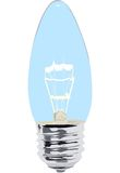 Lamp on white illustration Stock Images