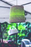 Lamp with wool royalty free stock photography